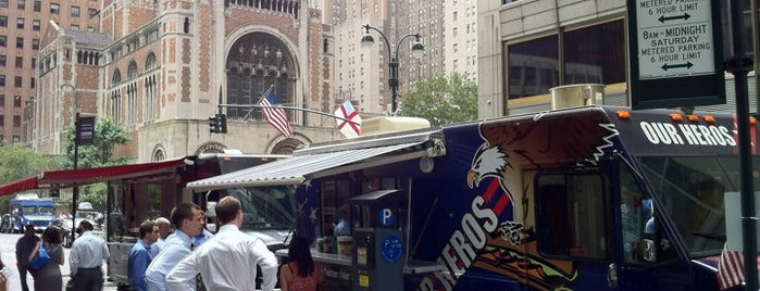 Our Heros Truck is one of Food Truck Heaven NYC.