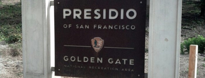 Presidio of San Francisco is one of Oakland & Frannie & NW.