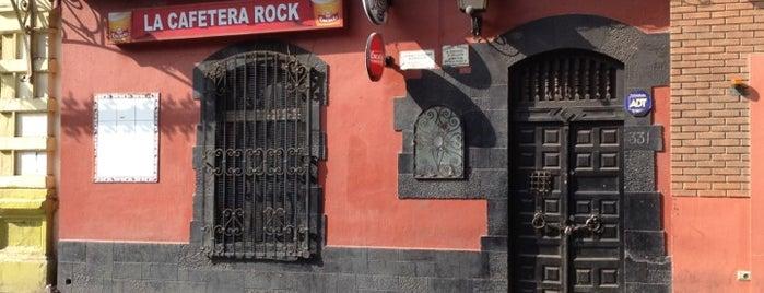 La Cafetera Rock is one of Locais salvos de Pablo.