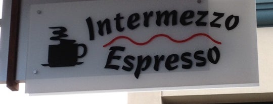 Intermezzo Espresso Bar is one of Orte, die Dominic gefallen.