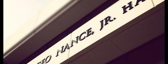 Nance Hall is one of Evi (PantherPride)'ın Kaydettiği Mekanlar.