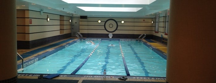 New York Health & Racquet Club is one of #FitBy4sqDay Tips.