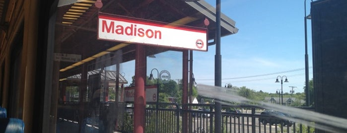 Shore Line East - Madison Train Station is one of Shore Line East & Northeast Corridor (ConnDot).