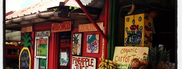 aloha juice bar is one of Kauai.