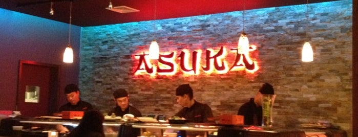Asuka Sushi is one of Favorite places to eat.
