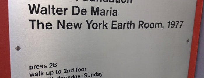 The New York Earth Room is one of Museum Nerds Museum Picks.