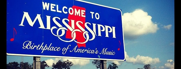 Louisiana-Mississippi State Line is one of Joshua 님이 저장한 장소.