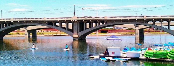 Tempe Beach Park is one of Phoenix, AZ.