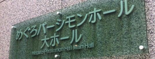 Meguro Persimmon Hall is one of 東京ココに行く! Vol.43.