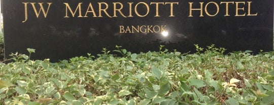 JW Marriott Hotel Bangkok is one of Lugares favoritos de Ben.