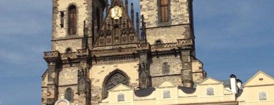 Kostel Matky Boží před Týnem is one of Praga.