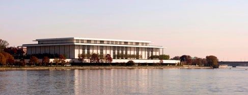 The John F. Kennedy Center for the Performing Arts is one of IWalked WashD.C.'s Foggy Bottom (Self-guided Tour).
