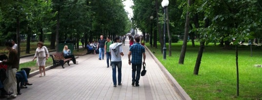 Chistoprudny Boulevard is one of Walking.