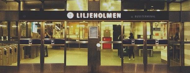 Liljeholmen T-Bana is one of Stockholm.
