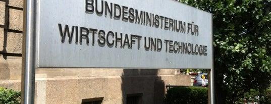 Bundesministerium für Wirtschaft und Energie is one of Berlin #4sqcities.
