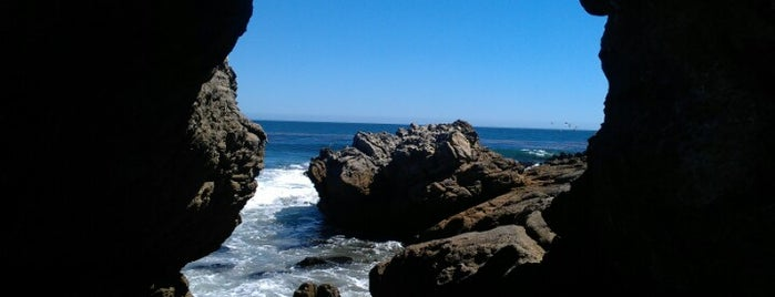 Leo Carrillo State Park Beach is one of LA family trip.