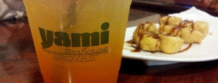 Yami Teahouse is one of LA.