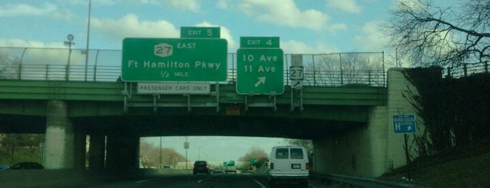 Prospect Expressway is one of New York City Sports.
