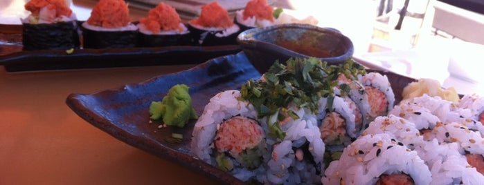 Stingray Sushi is one of Old Town My Way.