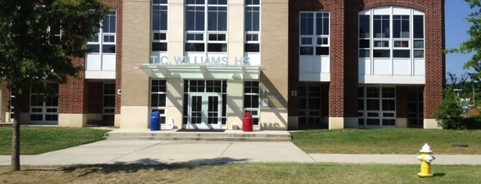 T.C. Williams High School is one of DC.