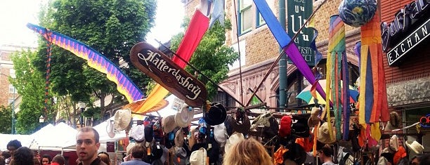 University District Street Fair is one of Lost in Seattle.