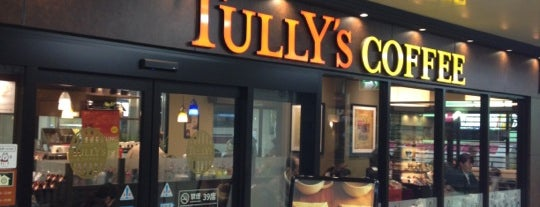 Tully's Coffee is one of 充電スポット.