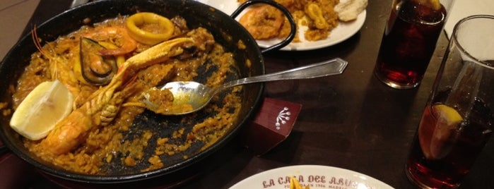 La Casa del Abuelo is one of The Best Of Madrid.