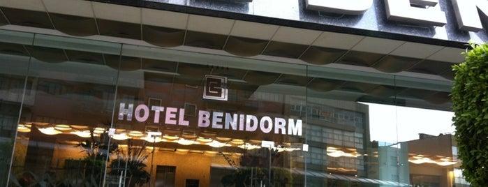 Hotel Benidorm is one of Orte, die Rodrigo gefallen.