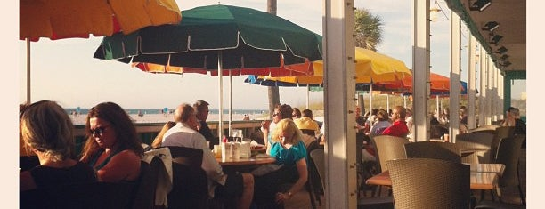 Palm Pavilion Beachside Grill & Bar is one of Best of St. Pete's.