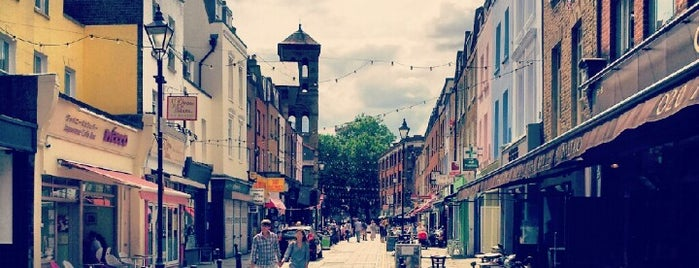 Exmouth Market is one of Londres.