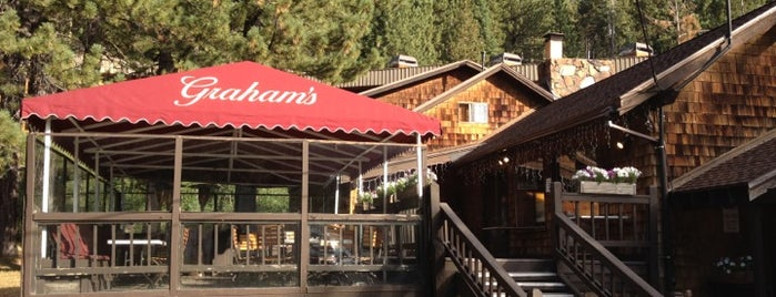 Graham's at Squaw Valley is one of Tahoe.