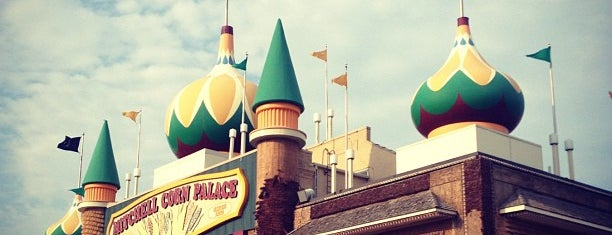 The Corn Palace is one of May Road Trip.