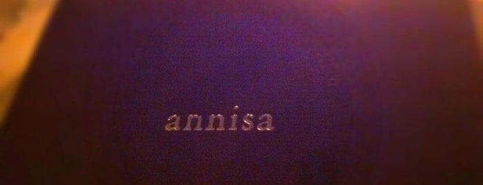 Annisa is one of places.