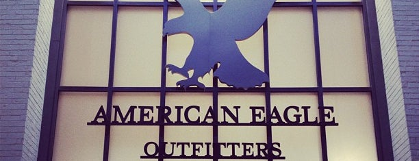 American Eagle Outfitters is one of Joud's Liked Places.