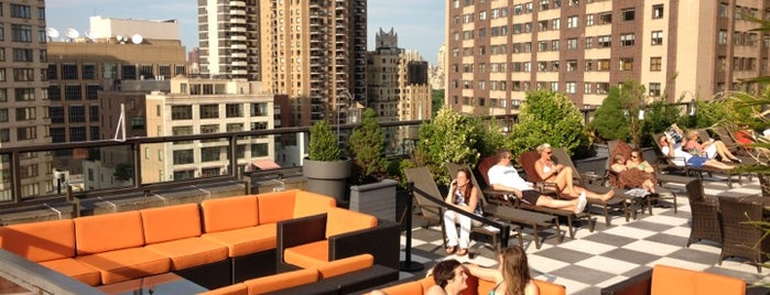 The Empire Hotel Rooftop is one of nyc outdoor eats & drinks.