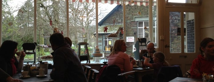 Baldry's Tea Room is one of Grasmere.