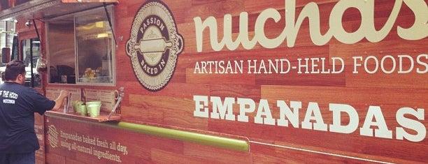 Nuchas Artisan Empanadas is one of Food Trucks.