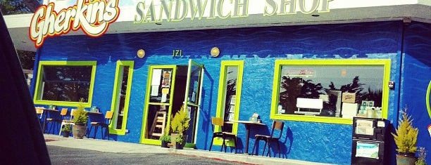 Gherkins Sandwich Shop is one of Locais curtidos por Stephanie.