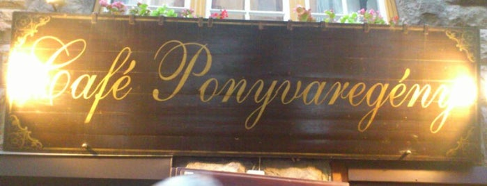 Café Ponyvaregény is one of Galina 님이 좋아한 장소.
