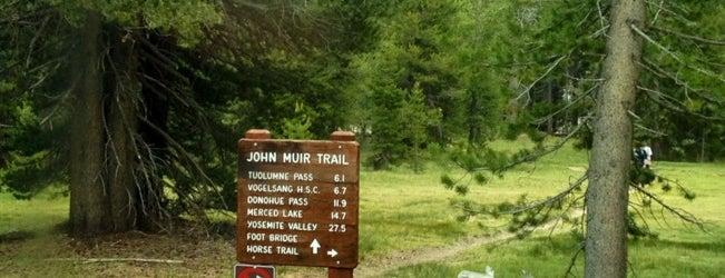 John Muir Trailhead is one of Yosemite.