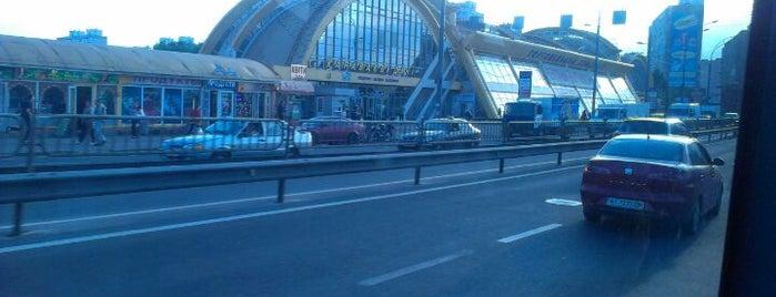 Міст Караваєві Дачі is one of Samet 님이 좋아한 장소.