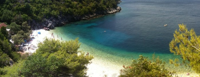 Vaja Wild Beach is one of Croatie.