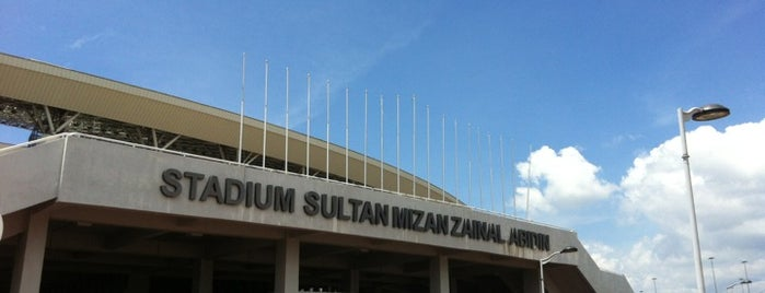 Stadium Sultan Mizan Zainal Abidin is one of Attraction Places to Visit.