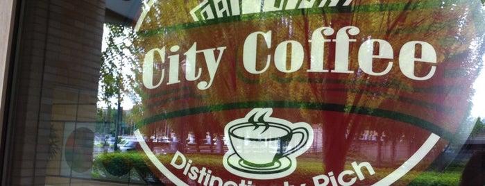 City Coffee is one of Lugares favoritos de Katya.