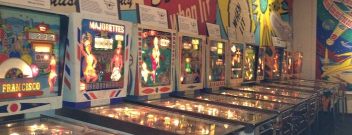 Pacific Pinball Museum is one of East Bay faves.