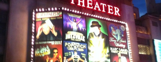 V Theater is one of Vegas Baby!.