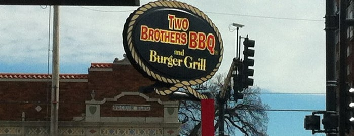 Two Brothers BBQ & Burger Grill is one of Kc bbq.