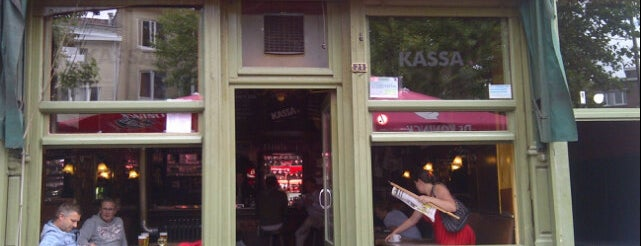 Kassa 4 is one of Funky Antwerp.