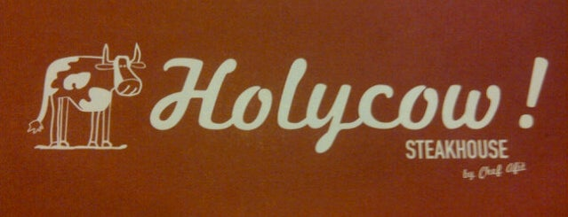 Holycow! Steakhouse is one of Jakarta, Indonesia.