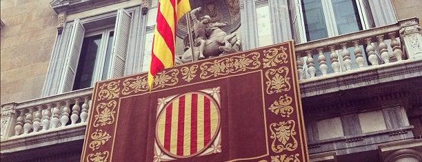 Palau de la Generalitat de Catalunya is one of Barcelona Essentials.